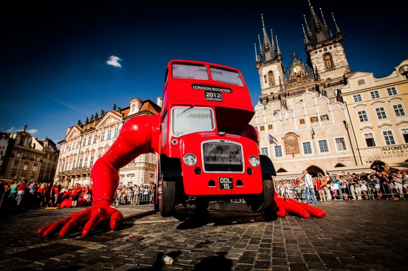 Firemní akce, Staroměstské náměstí, Praha