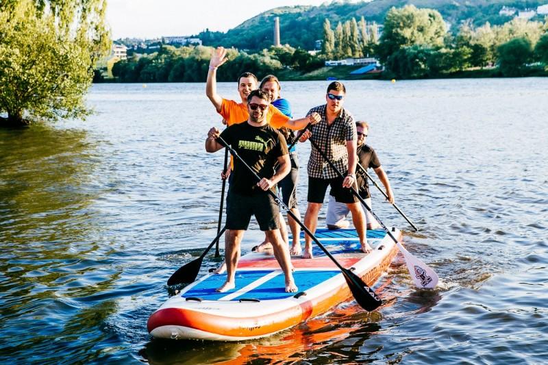 Teambuilding, Praha